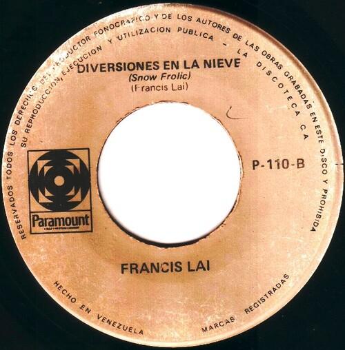 Francis Lai -  Diversiones En La Nieve (Snow Frolic)