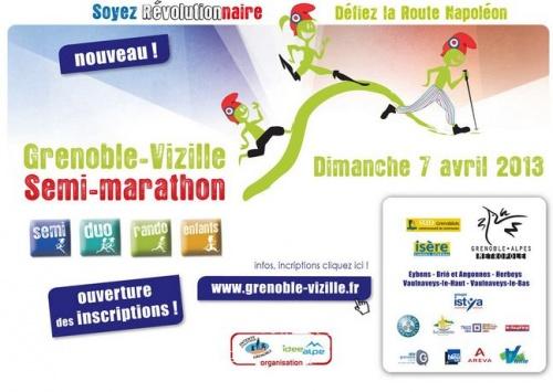 Nouvelle course  dimanche 7 avril 2013