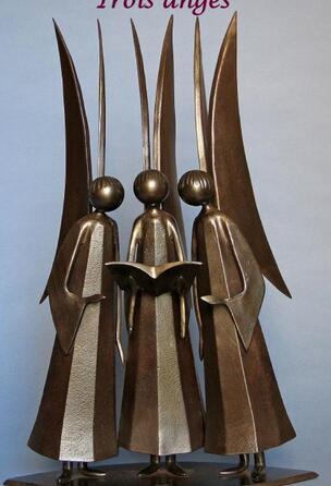 Dernières sculptures de Jean-Pierre Auger