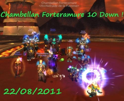Chambellan 10 Down !