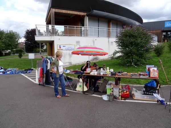 Le second vide-greniers de la MJC Lucie Aubrac a eu un grand succès !
