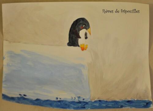 Peinture inspirée de Plouk - L'art est un jeu d'enfant