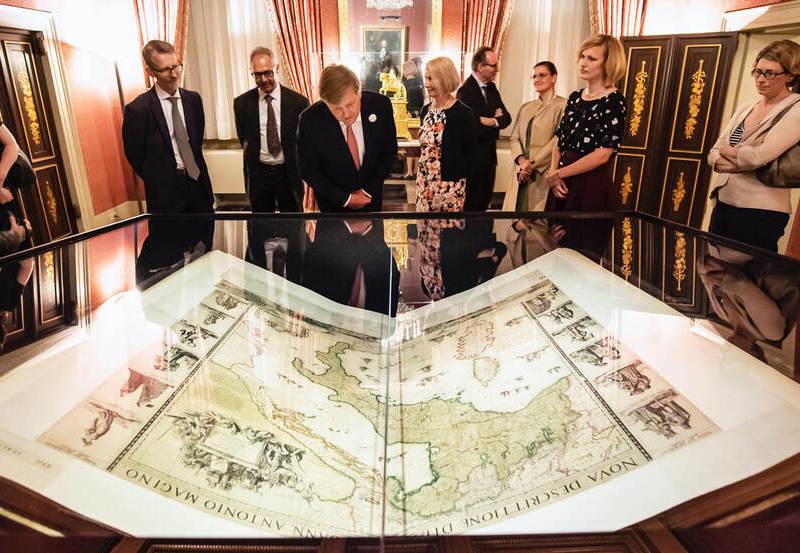 'Universum van Amsterdam. Schatten uit de Gouden Eeuw van de cartografie'.