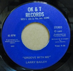 Larry Bailey - Groove With Me