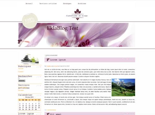 Nouveaux thèmes pour vos blogs