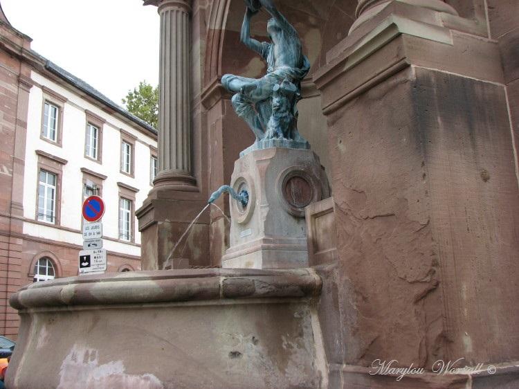 Jeux d'eau colmariens : Le Petit Vigneron