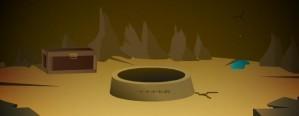 Trapped in treasure cave