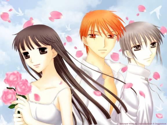 Tohru, Kyô et Yuki
