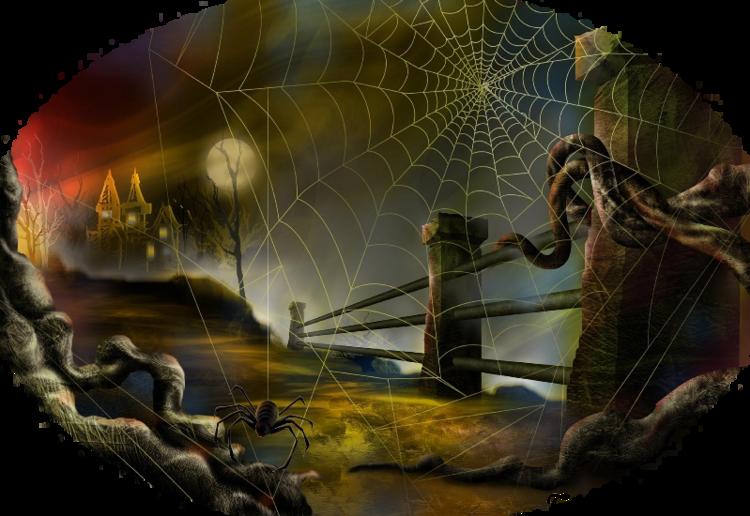 Mes Tubes Fonds Halloween Série 5