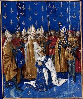 330px-Couronnement de Charles VI le Bien-Aimé