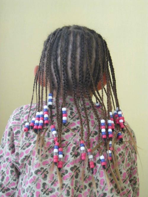 3/4 de Sabatinis chez le coiffeur...
