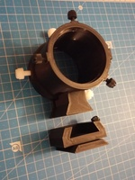 """short-legged"" bracket for 50mm mini-guidescope+ ball-head dovetail adapter"