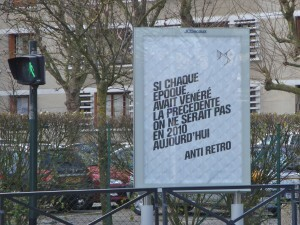 affiche Citroën rétro époque