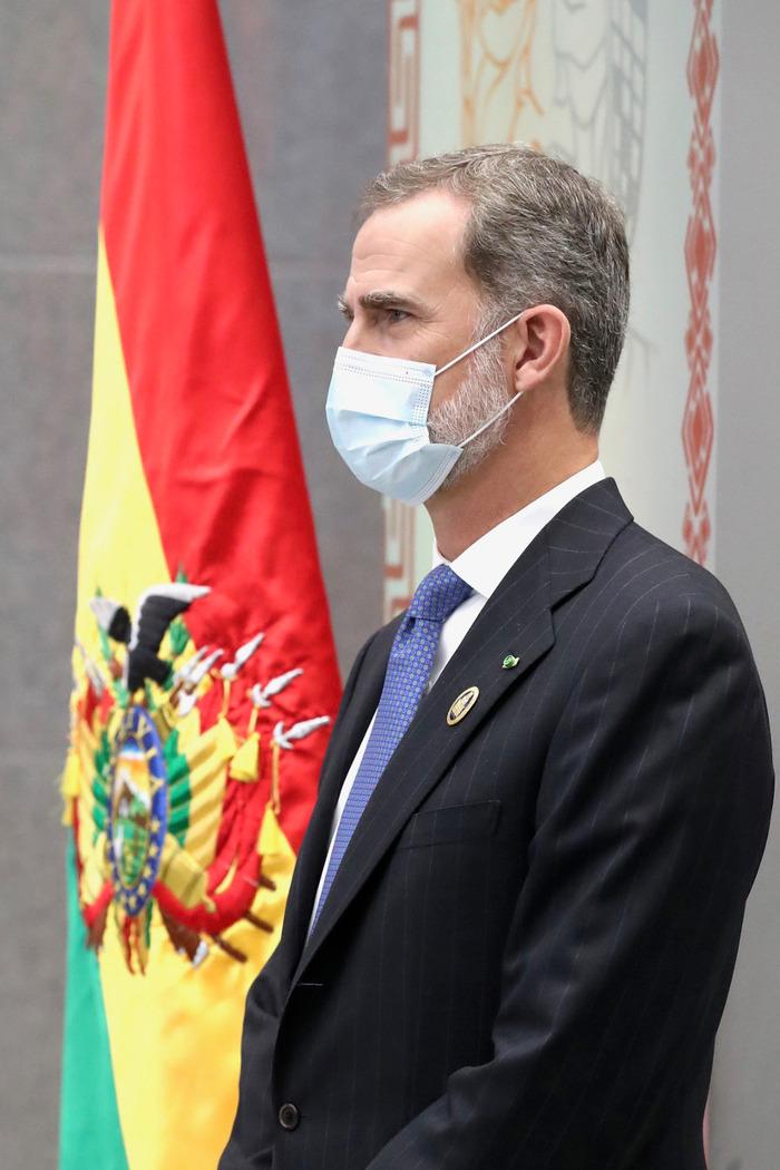 Felipe d'Espagne en Bolivie
