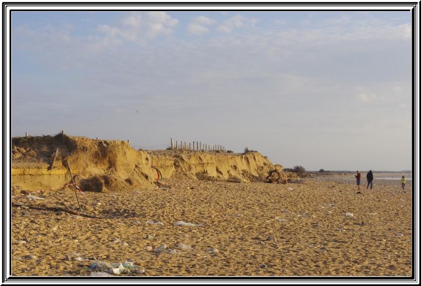 la plage de Vert Bois à Dolus d'Oléron  (charente maritime)