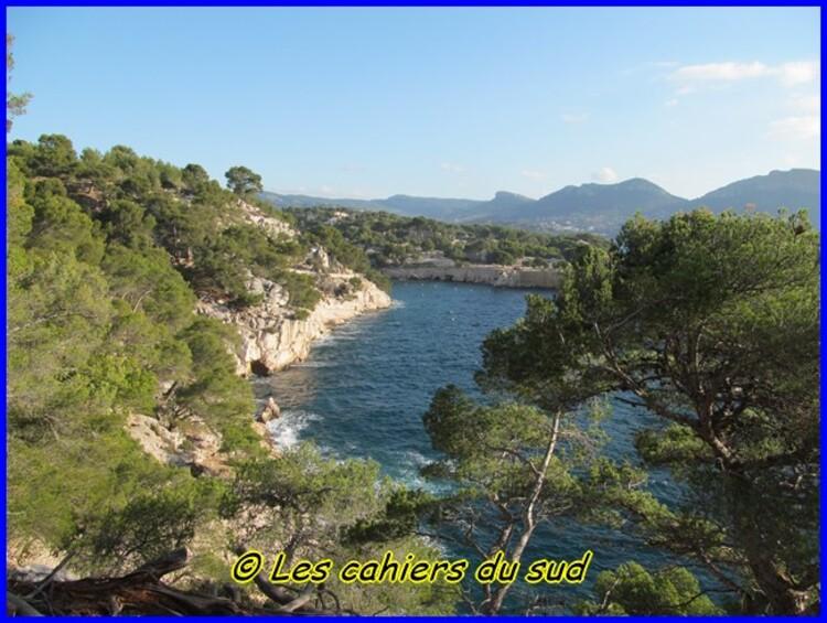 Calanques, Port pin et le plateau de Cadeiron