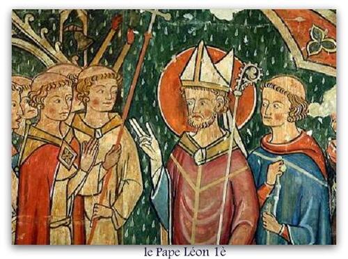 çà s'est passé en juillet le pape léon 1è