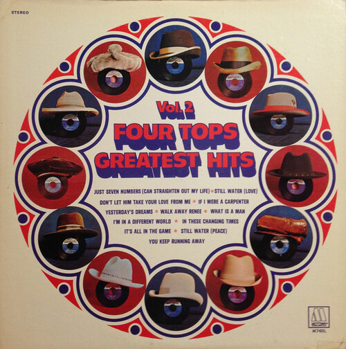 "The Four Tops : Album "" Four Tops Greatest Hits. Vol. 2 "" Motown Records M 740L [ US ]"