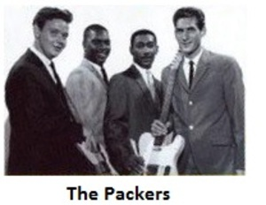 THE PACKERS - 2nd ALBUM - HITCH IT UP -  IMPERIAL RECORDS