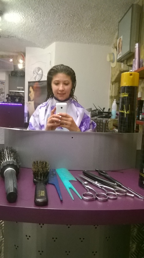 Nouvelle cheveux coupé ! :D