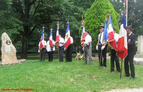 La commémoration du 18 juin à Châtillon sur Seine, vue par René Drappier
