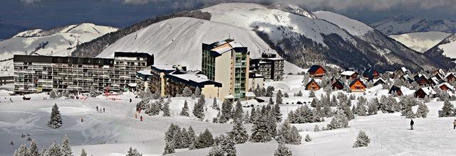 panoramique sur Station de ski de la Pierre Saint-Martin