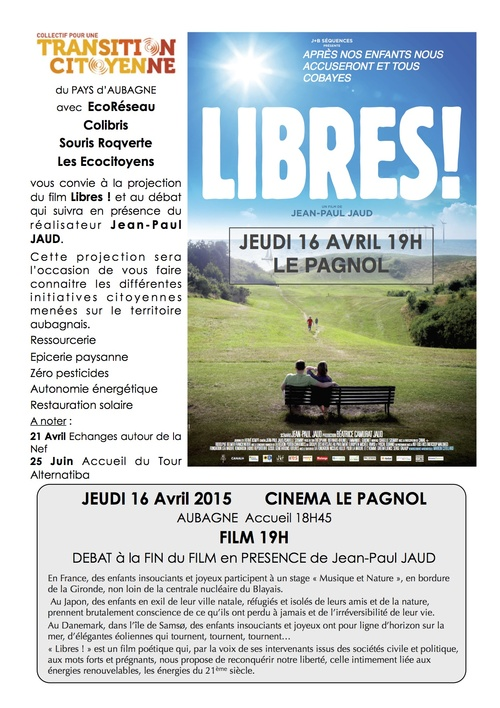 "Projection ""Libres !"""