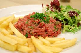 - Steak tartare à l'américaine