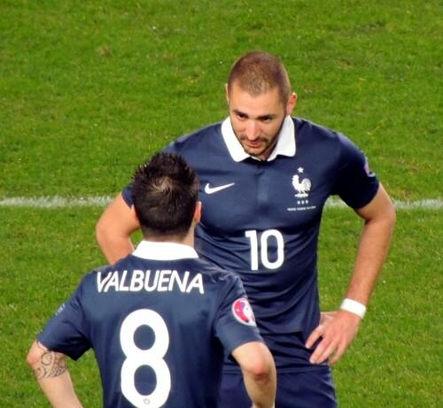 France vs Albanie : Valbuena et Benzema