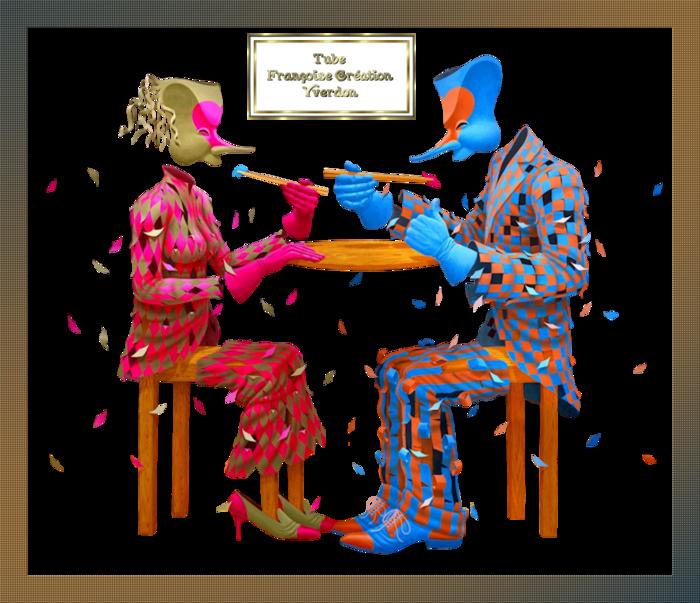 Personnages étranges-claudia souza pinto (07 à 11)