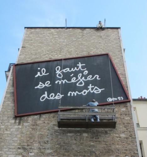 Ben se méfier des mot street-art 0