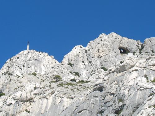 La Croix de Provence et le Garagaï, face sud