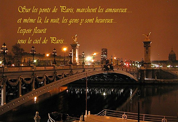 un pont de paris