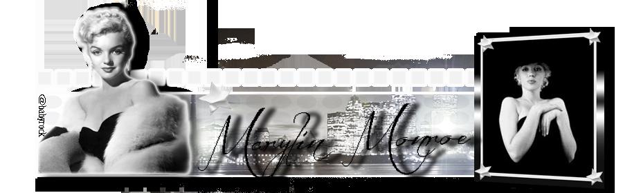 Bannière Marylin Monroe