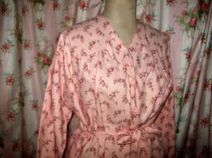 robe de nuit finette