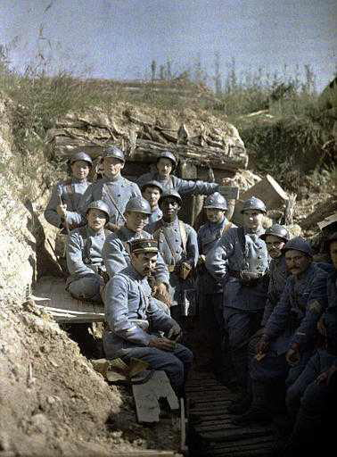L'Alsace sous l'objectif : représentations de la guerre