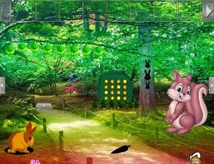 Jouer à Funny bunny garden escape