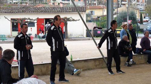 Qualificatif de ligue 14 & 15 Avril Grasse Pétanque