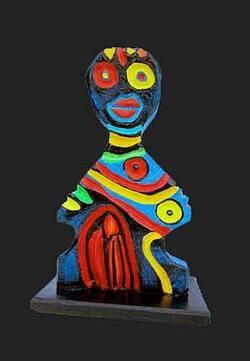 Des sculptures à foison Poiré Guallino
