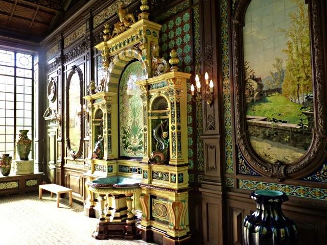 Le Jardin d'Hiver Musée de la faïence de Sarreguemines 6