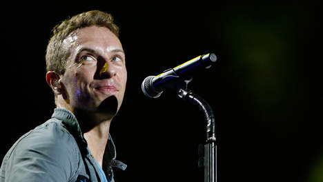 Chris Martin admire Lady Gaga !