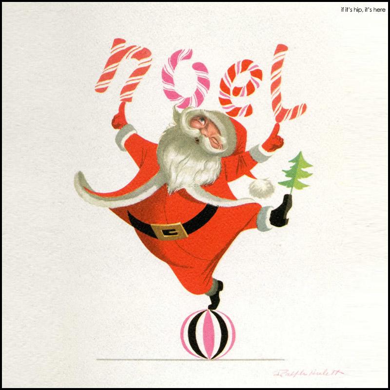 Un Noël magique et rétro de Ralph Hulett
