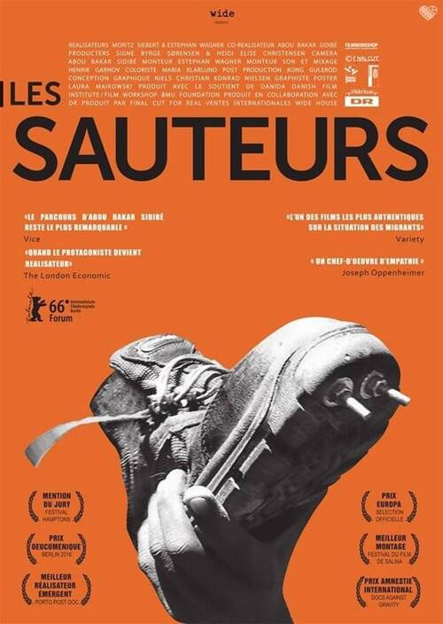 "*mardi 2 mai 18h30 au hublot (laragne) - film ""les SAUTEURS"" + debat avec la CIMADE"