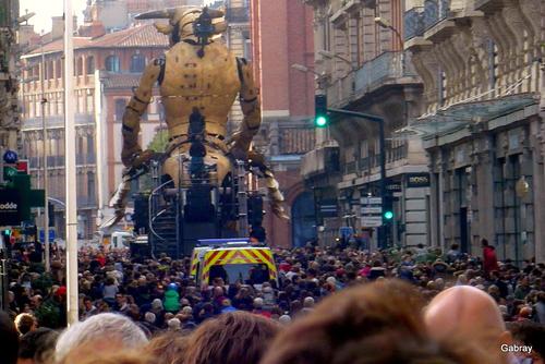 Toulouse: le Minotaure!