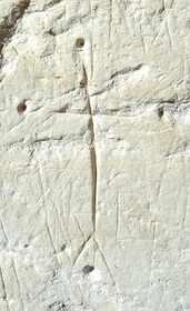 Croix gravée