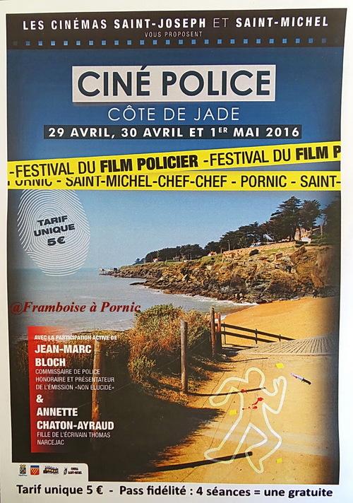 Pornic Festival du FILM POLICIER - 2016