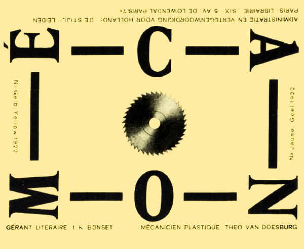 magazine dada,Mecano de Théo van-Doesburg,Je-Bonset, Pointtopoint-studio