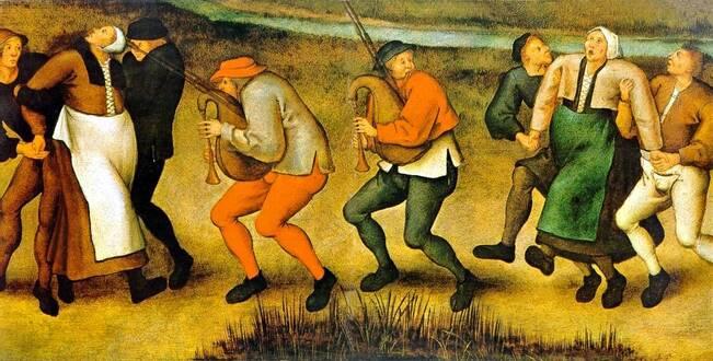 EPIDEMIE DANSANTE L'épidémie dansante de 1518