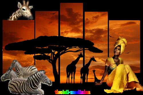 Variante tuto Vanijé - Afrique