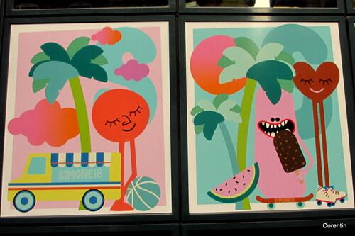 Des vitres bien décorées (1)
